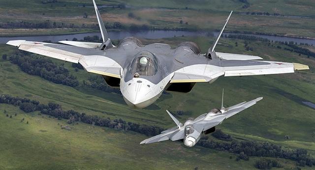Máy bay T-50 của Nga. (Ảnh: Sputnik)