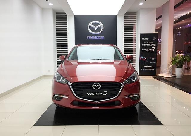 Mazda3 2017 có giá bán từ 690 triệu đồng - 1