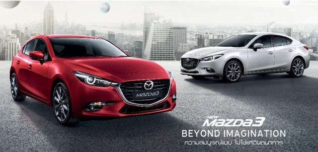 Mazda3 2017 ra mắt tại Thái Lan, giá từ 21.165 USD - 1