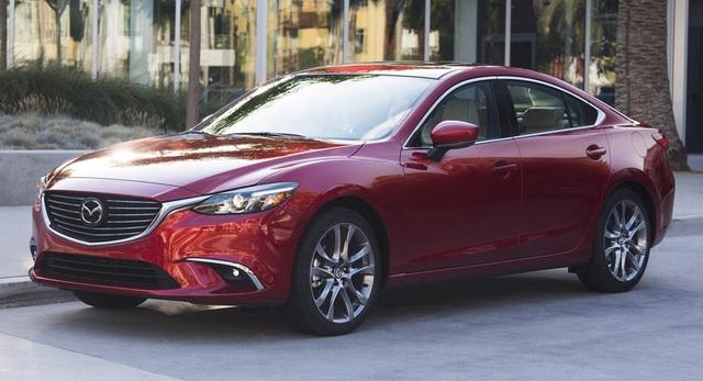 Mazda6 được nâng cấp - 1