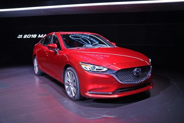 Mazda6 phiên bản nâng cấp chính thức ra mắt - Động cơ mới - 4