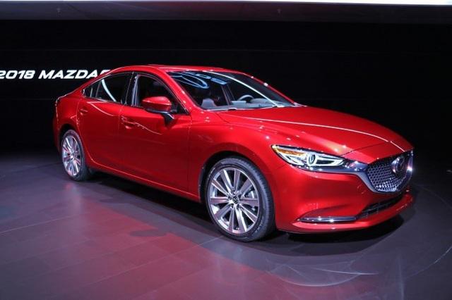 Mazda6 phiên bản nâng cấp chính thức ra mắt - Động cơ mới - 5