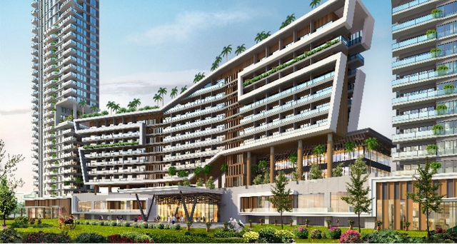 Pan Pacific Danang Resort được dày công đầu tư trong thiết kế kiến trúc với sự góp mặt của nhiều đơn vị đẳng cấp quốc tế
