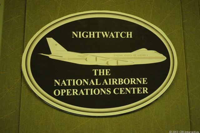 Thông tin về máy bay Ngày tận thế rất ít mặc dù luôn theo sát chuyên cơ Tổng thống Mỹ. (Ảnh: CBS)