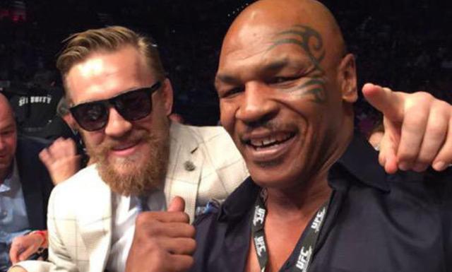 McGregor gọi Mike Tyson là con trai
