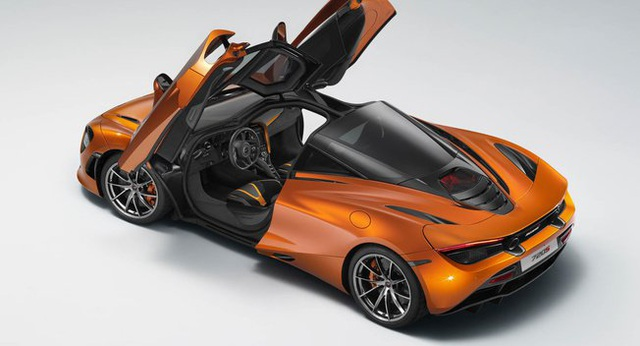 Bất ngờ lộ ảnh tân binh McLaren 720S - 1