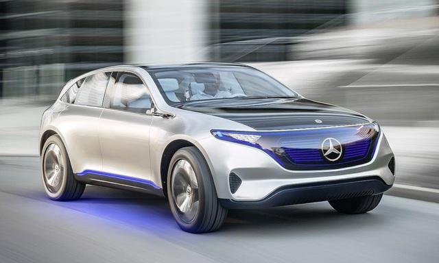 Mẫu crossover EQ là sản phẩm đầu tiên trong 10 mẫu xe chạy điện mới mà Mercedes-Benz dự định ra mắt trong thời gian từ nay cho tới 2025.