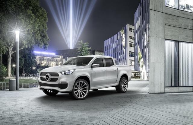 Mercedes-Benz mang xe bán tải X-Class đến Geneva góp vui - 2