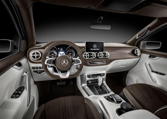 Mercedes-Benz mang xe bán tải X-Class đến Geneva góp vui - 4