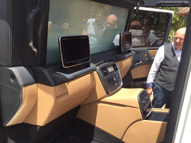 Mercedes-Maybach G650 Landaulet lộ diện trước giờ G - 5