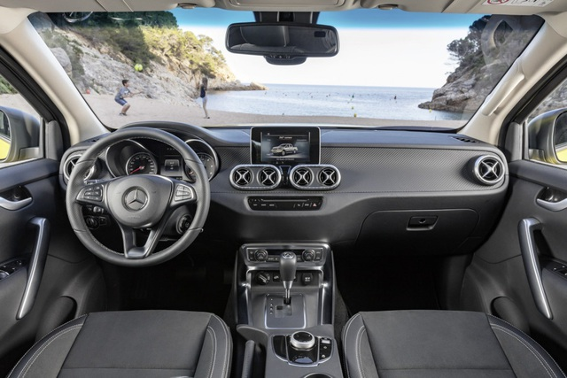 X-Class - Cuộc chơi bán tải của Mercedes-Benz - 7