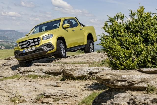 Mercedes-Benz cần Nissan hỗ trợ sản xuất xe bán tải X-Class - 1