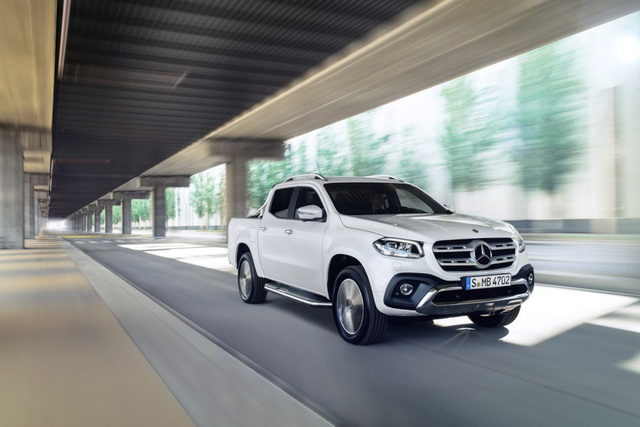 X-Class - Cuộc chơi bán tải của Mercedes-Benz - 1