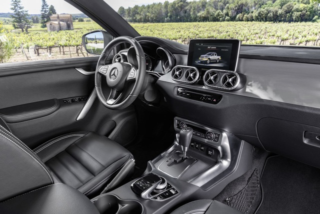X-Class - Cuộc chơi bán tải của Mercedes-Benz - 15