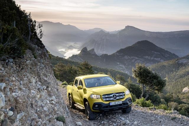 X-Class - Cuộc chơi bán tải của Mercedes-Benz - 4