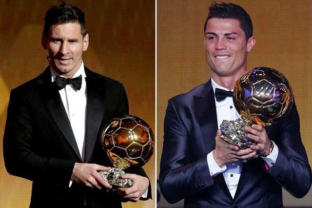 C.Ronaldo báo tin mình sẽ giành giải Quả bóng vàng 2017 cho Messi