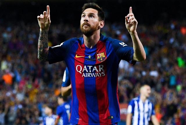Messi ký hợp đồng khủng với Barcelona