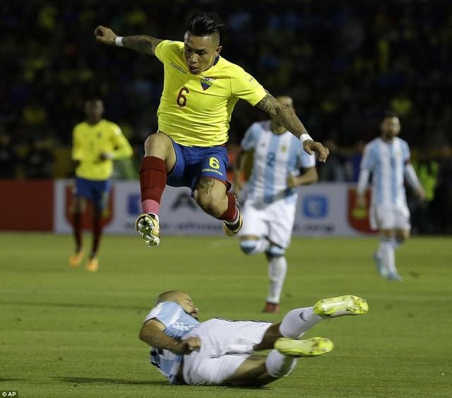 ... tuy nhiên Ecuador đã không thể tận dụng cơ hội