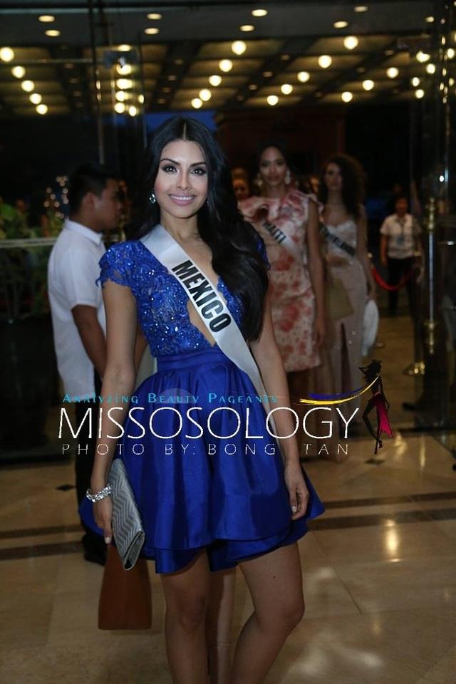 Lệ Hằng và các mỹ nhân khoe sắc trong tiệc tri ân Hoa hậu hoàn vũ 2015 - 65