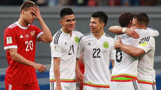 Mexico nhiều lần bị Đức bắt nạt trong quá khứ