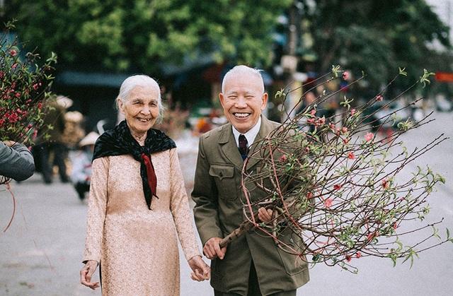 """Tình như cặp đôi 90 tuổi trong bộ ảnh """"Ông bà em"""" - 12"""