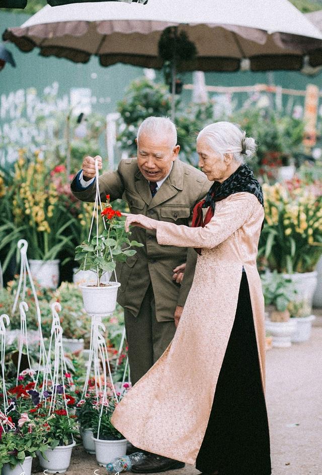 """Tình như cặp đôi 90 tuổi trong bộ ảnh """"Ông bà em"""" - 10"""