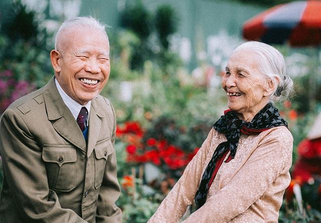 """Tình như cặp đôi 90 tuổi trong bộ ảnh """"Ông bà em"""" - 4"""