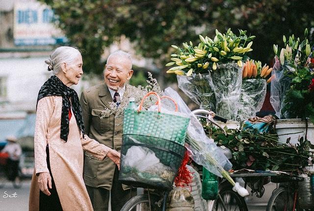 """Tình như cặp đôi 90 tuổi trong bộ ảnh """"Ông bà em"""" - 1"""