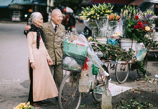 """Tình như cặp đôi 90 tuổi trong bộ ảnh """"Ông bà em"""" - 2"""
