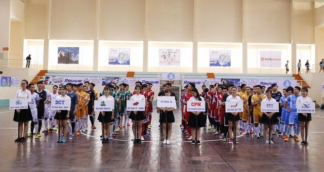 Đà Nẵng có 8 đội thi đến từ 8 trường đại học, cao đẳng tham dự Giải