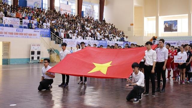 Giải thể thao Sinh viên Việt Nam khu vực TP Đà Nẵng vừa chính thức khởi động