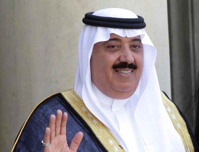 Hoàng tử Ả rập Xê út Miteb bin Abdullah (Ảnh: Reuters)