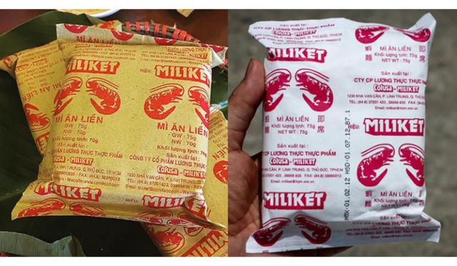 Mì ăn liền Miliket với thương hiệu gắn với huyền thoại 2 tôm