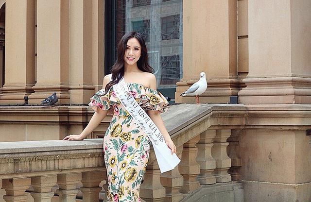Mia (Trần Khánh Huyền) lọt vào chung kết Miss Galaxy Australia 2018