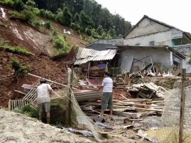 Mưa, lũ làm 9 người chết, 2 người mất tích tại các tỉnh miền núi phía Bắc (Ảnh minh họa: TTXVN).