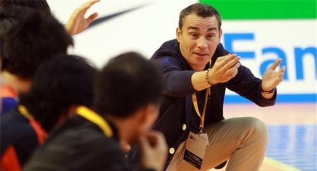 Tân HLV đội tuyển futsal Việt Nam, ông Miguel Rodrigo