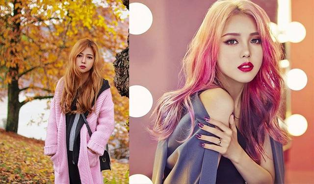 Milla Chu (bên trái) và hot girl - beauty blogger Hàn Quốc Pony (bên phải) có nhiều nét giống nhau.