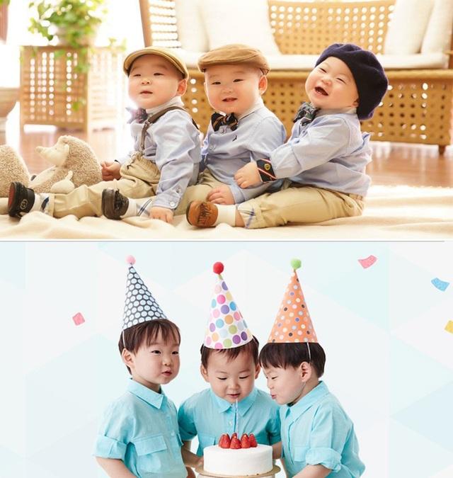 3 anh em nổi tiếng của làng giải trí Hàn Quốc Song Daehan, Song Minguk và Song Manse.