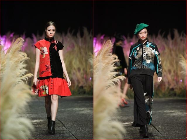 Có thể nói, khi xem những bộ trang phục của NTK Minh Hạnh khiến cho người ta liên tưởng đến những tác phẩm nghệ thuật bởi NTK đã khéo trong việc phối hợp giữa hoa văn, màu sắc và kiểu dáng để tạo cho trang phục một vẻ đẹp thanh thoát, sang trọng trong kiểu dáng rất ứng dụng.