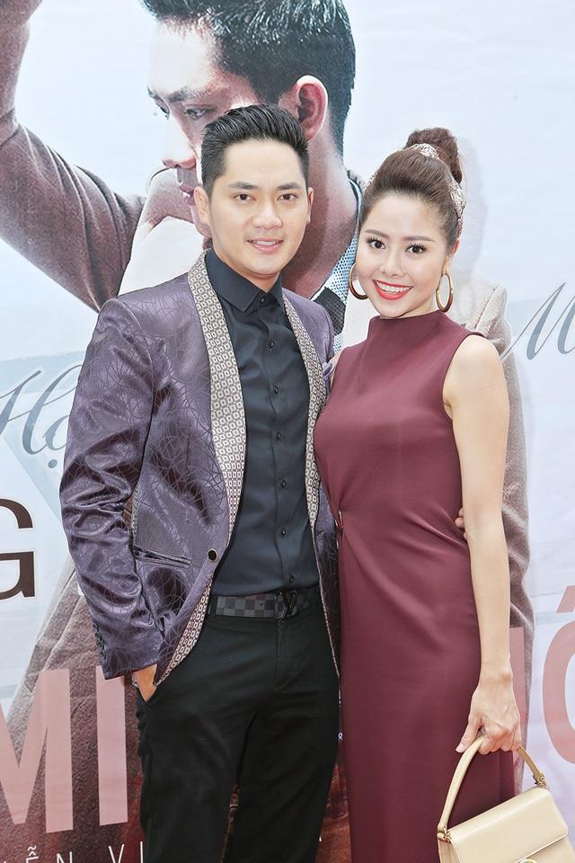 Minh Luân và diễn viên Tường Vy