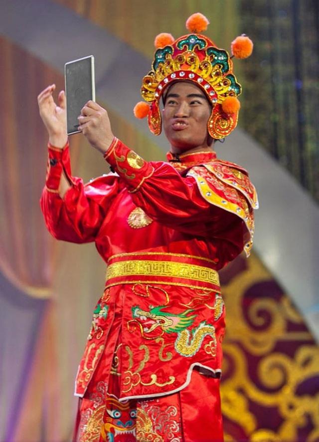 Minh Quân trong vai Thiên Lôi.