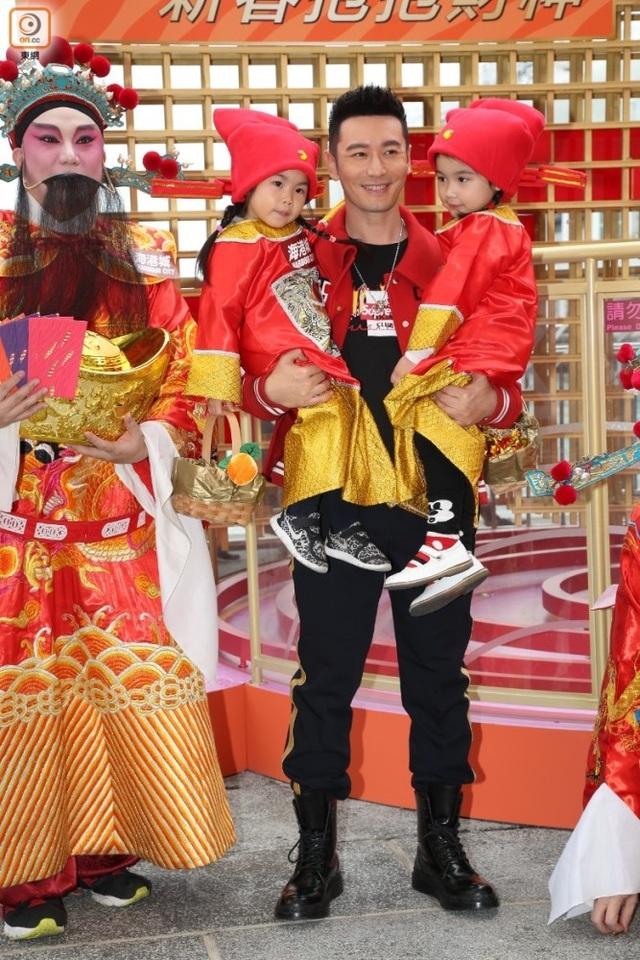 Huỳnh Hiểu Minh hi vọng anh sẽ là một ông bố tốt và biết chăm chút con cái.