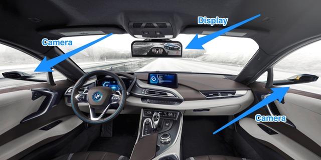 Ô tô không có gương chiếu hậu trông sẽ thế nào? - 1