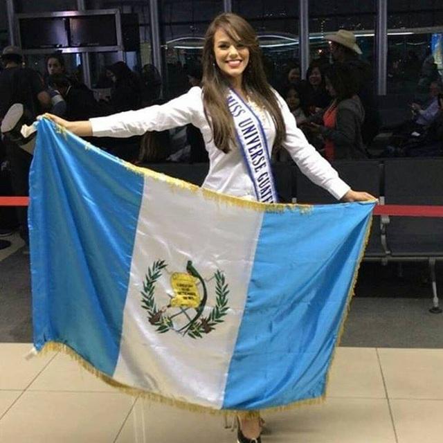 Hoa hậu Guatemala - Virginia Argueta lên đường sang Philippines tham dự cuộc thi Hoa hậu Hoàn vũ 2016