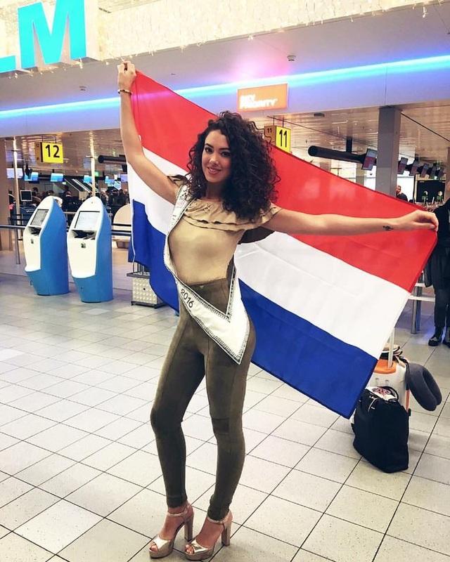 Hoa hậu Hà lan - Zoey Ivory lên đường sang Philippines tham dự cuộc thi Hoa hậu Hoàn vũ 2016