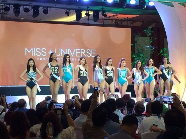 Những cô gái đẹp nhất thế giới đang tụ tập tại Philippines để trình diễn áo tắm.