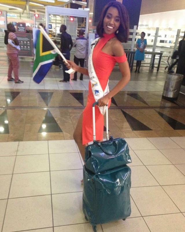 Hoa hậu Nam Phi - Ntandoyenkosi Kunene