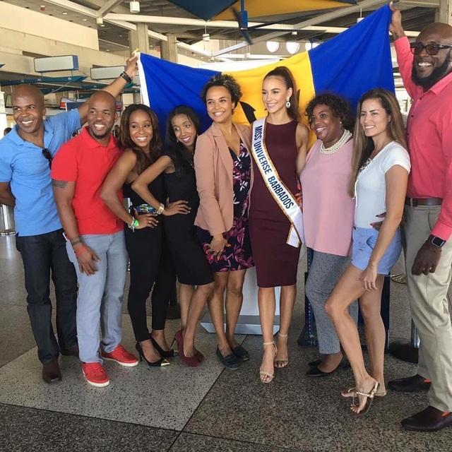 Hoa hậu Barbados - Shannon Harris lên đường sang Philippines tham dự cuộc thi Hoa hậu Hoàn vũ 2016