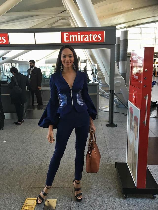 Hoa hậu Haiti - Raquel Pelissier lên đường sang Philippines tham dự cuộc thi Hoa hậu Hoàn vũ 2016