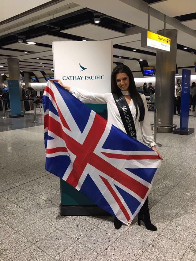 Hoa hậu Anh - Jamie-Lee Faulkner